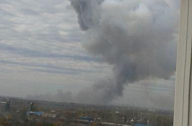 В СНБО назвали причину мощного взрыва в Донецке