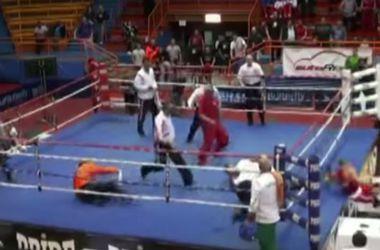 Расстроенный своим поражением боксер нокаутировал судью