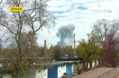 СНБО: Взрыв на заводе в Донецке случился из-за боевиков