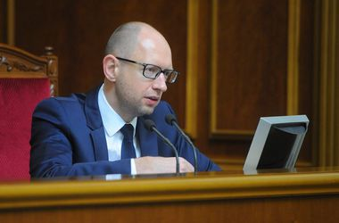 Яценюк думает, что Путин хочет заморозить Украину