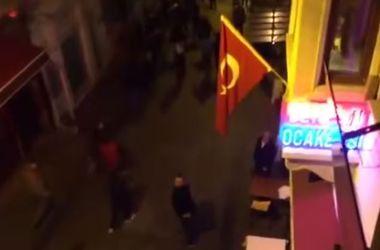 """Вооруженные ножами фанаты """"Галатасарая"""" напали на болельщиков """"Боруссии"""""""