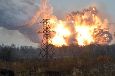 СНБО: Мощные взрывы в Донецке могли устроить патриотически-настроенные люди