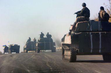 Во время артобстрела колонны сил АТО без вести пропали 5 бойцов - МВД