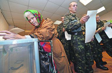 Выборы Рады под дулами автоматов