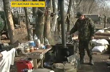 Количество обстрелов украинских блокпостов уменьшилось