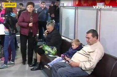 Гуманитарный штаб Рината Ахметова возобновил раздачу детских наборов на стадионе Донбасс Арена