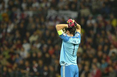 Вратарь Икер Касильяс вышел на первое место по количеству матчей в Лиге чемпионов
