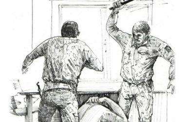 """Донецкий Бэнкси изобразил пытки в """"ДНР"""" в рисунках"""
