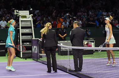 Мария Шарапова проиграла второй матч на Итоговом турнире WTA
