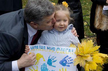 Порошенко заверил, что на Одессу не нападут: подробности визита
