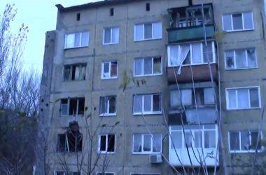 В Сети появилось очередное видео разрушений в Горловке