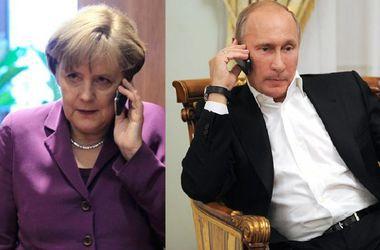 Меркель позвонила Путину поговорить об Украине