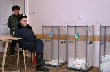Выборы будут охранять 60 тысяч правоохранителей