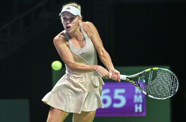 Возняцки обыграла Квитову и вышла в полуфинал итогового турнира теннисисток