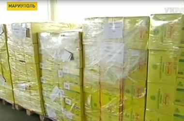 Гуманитарную помощь от Рината Ахметова на днях начнут развозить по городам Донбасса