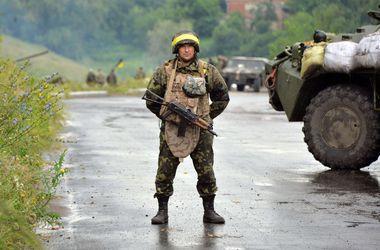 Ночь на востоке Украины прошла спокойно - пресс-центр АТО