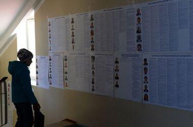 Выборы в Киеве: голосовать идет мало людей, в основном – пенсионеры