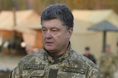 Порошенко поехал контролировать ход голосования в зоне АТО