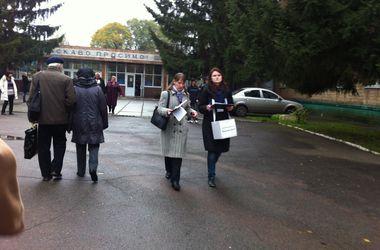 Выборы в Донецкой области проходят в напряженной обстановке