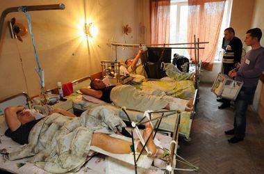 В военном госпитале Харькова голосуют раненые бойцы