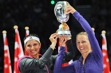 Мирза и Блэк выиграли Итоговый чемпионат WTA