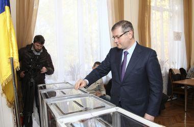 Вилкул проголосовал в Кривом Роге