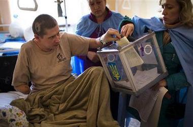 37 раненых бойцов АТО не смогут проголосовать