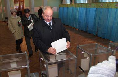 Губернатор Донецкой области проголосовал в Краматорске