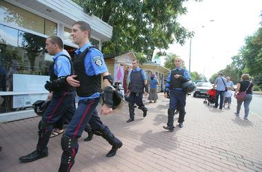 Под Киевом милиция задержала группу подозрительных парней