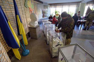 Явка украинцев на выборы в Раду составляет 34,67%