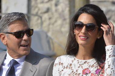 Джордж и Амаль Клуни еще раз отметили свадьбу