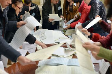 ЦИК обработал 1% протоколов: в Раду проходят семь партий