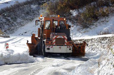 На Болгарию обрушился сильнейший снегопад
