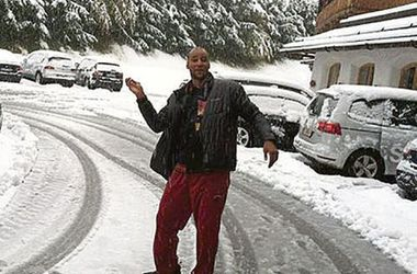 У Владимира Кличко - первый снег и планы на США