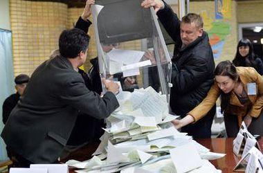 Обработано 40% голосов: партии Яценюка и Порошенко продолжают уверенно лидировать