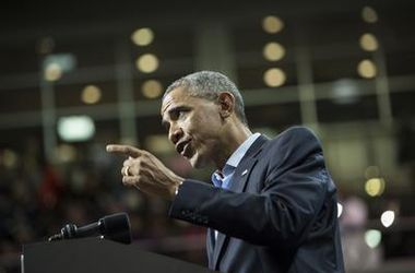 После выборов в Раду Обама обратился к России