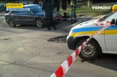 В Кривом Роге милиция установила личность человека, расстрелявшего автомобиль