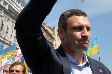 Кличко поздравил Яценюка и сказал, что остается мэром
