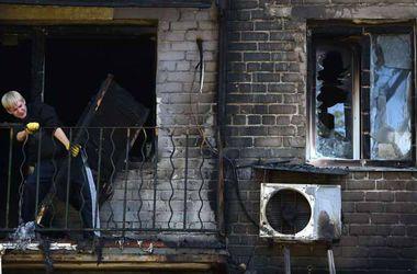 <p>В Донецке разрушено много домов. Фото: AFP</p>
