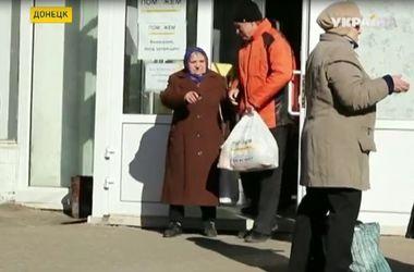Жители зоны АТО продолжают получать гуманитарную помощь от штаба Рината Ахметова