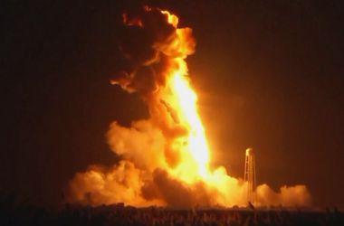 Названа возможная причина взрыва американской ракеты-носителя Antares