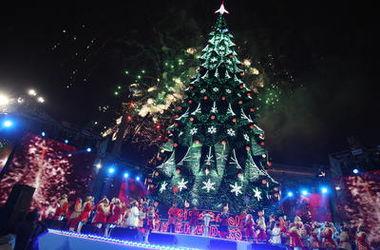 В Киеве устроят карнавал новогодних елок