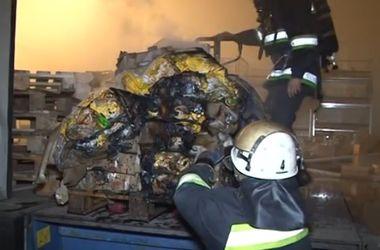 Во Львове горел крупный торговый центр