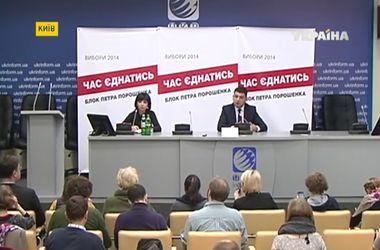 Блок Петра Порошенко презентовал коалиционное соглашение