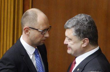 Два коалиционных соглашения: между Порошенко и Яценюком началась борьба за лидерство