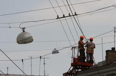 На киевской Троещине появятся новые уличные фонари