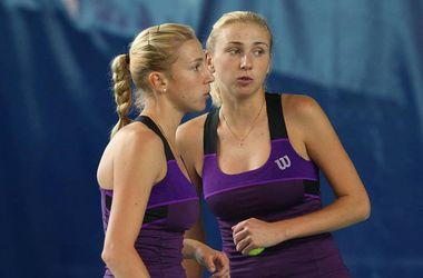 Украинские теннисистки-сестры Киченок сыграют в финале турнира в Нанте