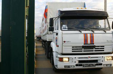 Все грузовики российского гумконвоя покинули Украину