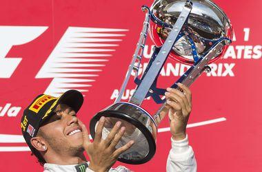Льюис Хэмилтон выиграл Гран-при США