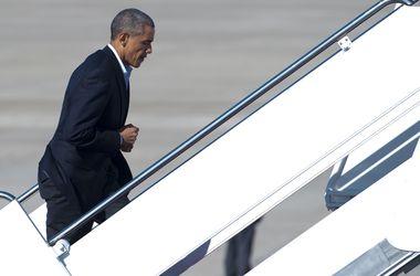 У Обамы сломался самолет
